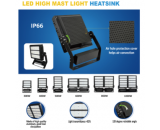 Floodlight housing;heatsink kit, aluminum heatsink