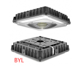 Led canopy light housing